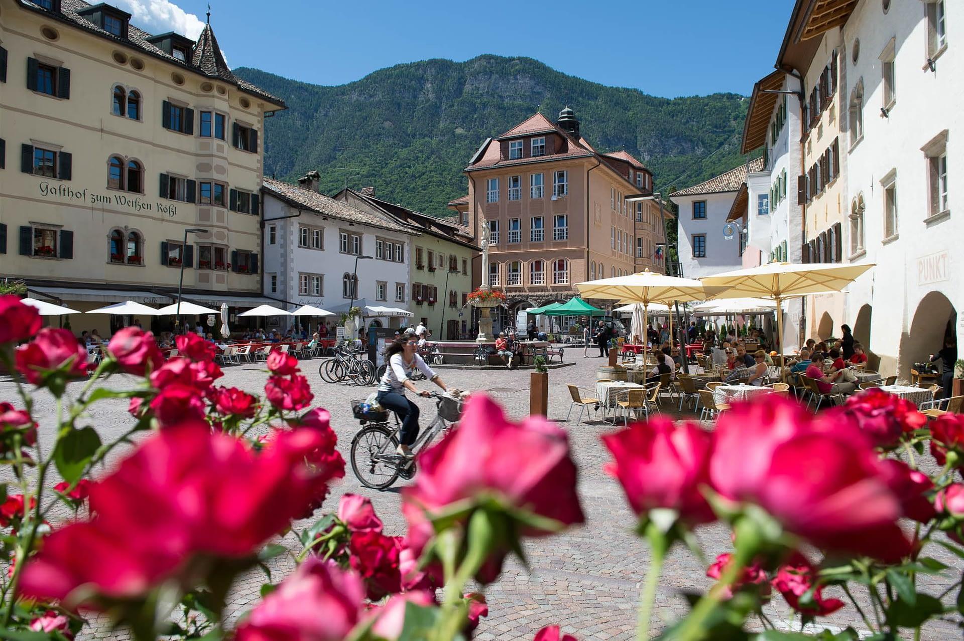 Marktplatz von Kaltern am See