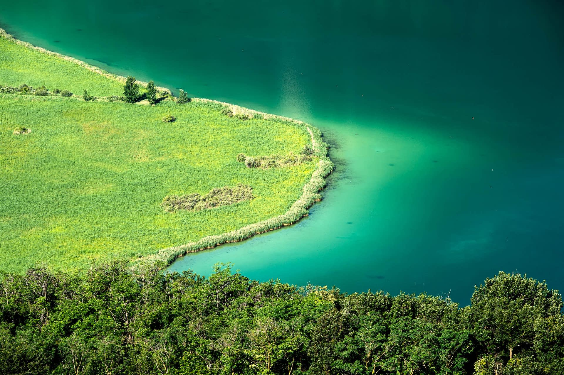 Naturschutzgebiet am Kalterer See